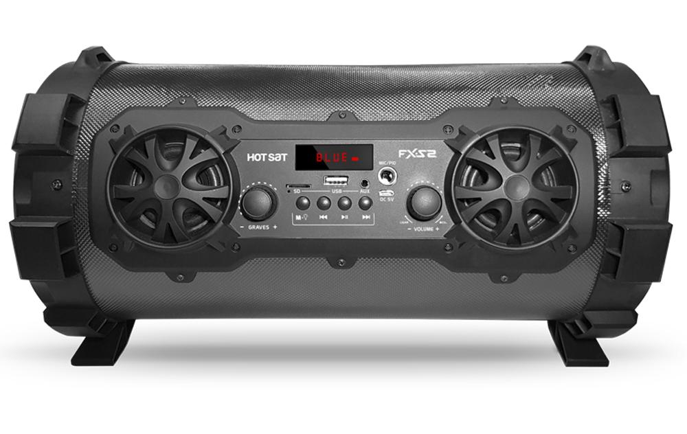 Portátil, completa e perfeita para você que quer curtir um som em qualquer lugar.