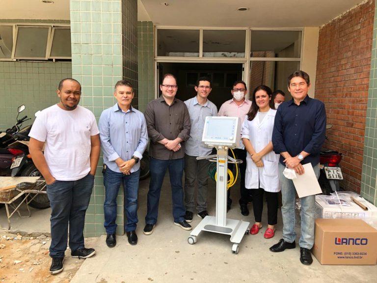 Empresários doam aparelhos de respiração em Teresina
