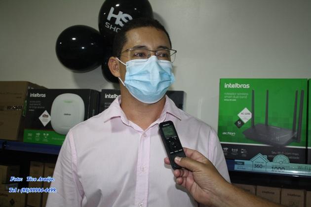 Reginaldo - Gerente da filial Hot Sat Picos