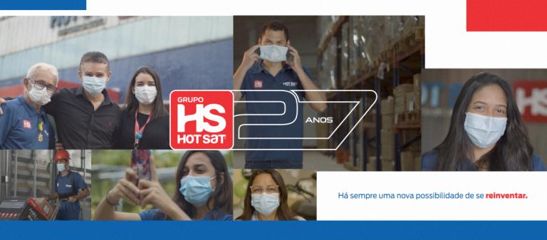 Hot Sat completa 27 anos - Hot Sat - Novas Possibilidades.